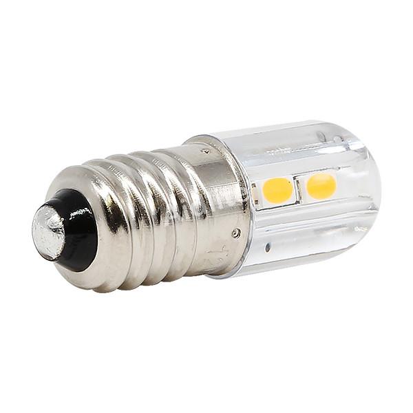 E10 Led Bulb W Stock Cover 4 Smd Led Indicator
