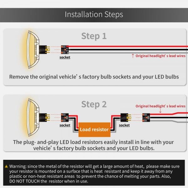 Brake Light Led Load Resistor Wiring Diagram from www.aidlite.com.tw
